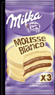 Milka Alf Mousse Blanco