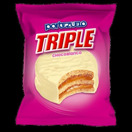 Portezuelo Alfajor Blanco Triple