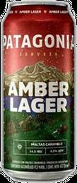 Patagonia Amber Lager Lata - 473 ml