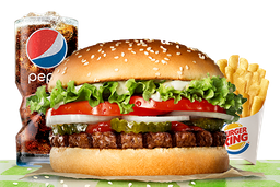 Combo Rebel Whopper® Doble