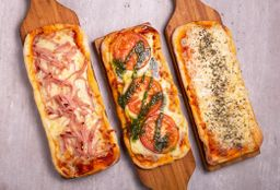 Trío de Pizzas