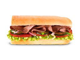 Sub Roast Beef 30 CM