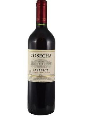 Vino Tinto Tarapaca Cosecha Cabernet Sauvignon