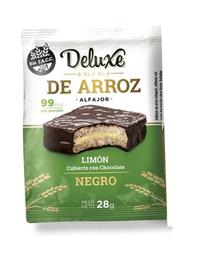 Alfajor Deluxe & Bla Bla de Arroz Mousse de Limon Chocolate 28g