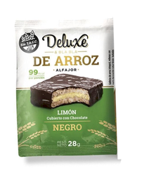 Alfajor Deluxe & Bla Bla de Arroz Mousse de Limon Chocolate 28g