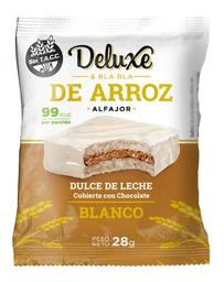 Alfajor Deluxe & Bla Bla de Arroz Dulce de Leche Chocolate 28 g