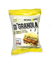 Alfajor D'Granola Chocolate Blanco 60 g