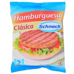 Hamburguesas Schnneck Clasica 2 U