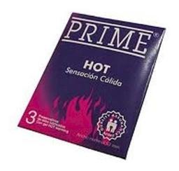 Prime Preservativo Hot