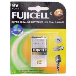 Pila Fujicell Alkalina de 9V 1 U