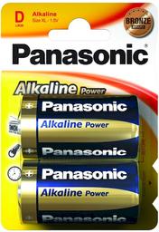 Pila Panasonic Alkalinas D 2 U