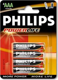 Pila Philips Alkalinas AAA 4 U