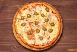Pizzetas con Muzzarella y Aceitunas - 30 cm