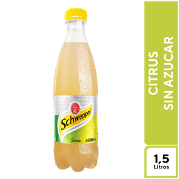 Schweppes Citrus Sin Azúcar 1.5 l