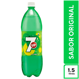 7Up Lima Limón 1.5 L