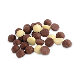 Botones Con Chocolate Relleno de Dulce de Leche 100 g