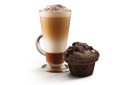 Capuccino + Muffin de Chocolate