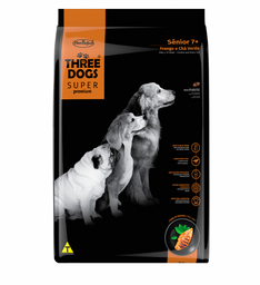 Alimento para perros Three Dogs Senior 3kg