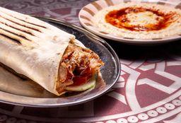 Shawarma de Cerdo & Humus
