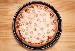 Pizza de Oliva