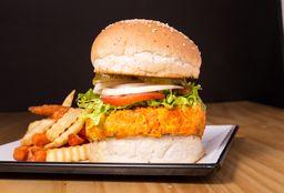 Burger Vegana En Combo