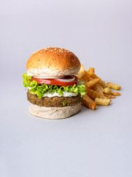Burger Vegana de Lentejas