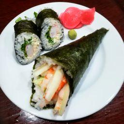Temaki Cheese Shrimp