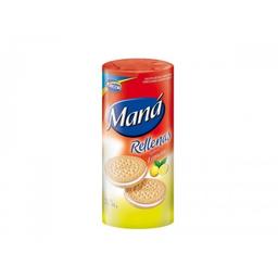 Galletas Dulces Mana Rellenas Sabor Limon