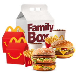 Family Box Feliz para 4