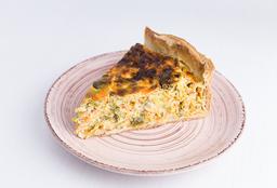 Tarta Puerro & Cebolla