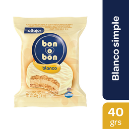 Bon O Bon Alfajor Blanco