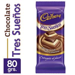 Cadbury Choco Tres Sue�Os X 80