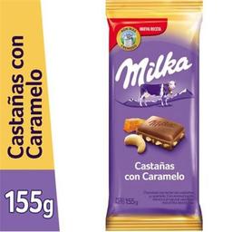 Milka Choco Casta�As Caram 155