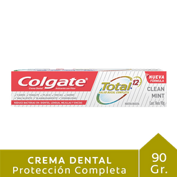 Colgate Crema Dental Total 12 Clean Mint
