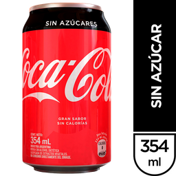 Coca-Cola Sin Azucar Refresco Zero La