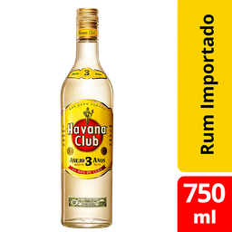 Havana Club Ron Blanco Anejo 3 Anos