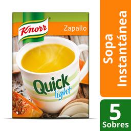 Knorr Sopa Zapallo Quick Light Cj