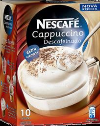 Cappuccino Nescafe Descafeinado 10 U
