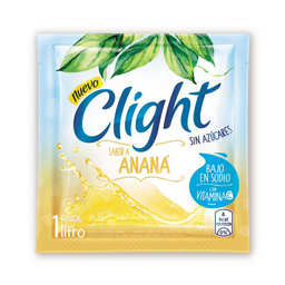 Jugo en Polvo Light Sabor nana Sin Azucar 7 g