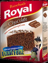 Bizcochuelo en Polvo Royal Sabor Chocolate 450 g