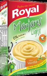 Postre en Polvo Royal Manjares Light Vainilla 43 g