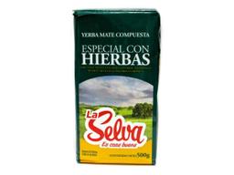Yerba Mate La Selva Con Hierbas 500 g