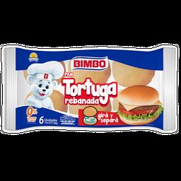 Pan Tortuga Bimbo Rebanada 6 U