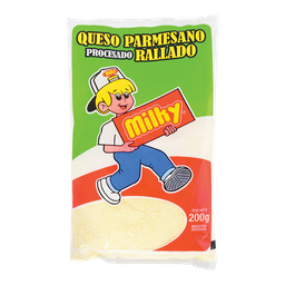 Queso Parmesano Rallado Milk 200 g