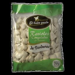 Ravioles Congelados El Buen gusto de Verdura 750 g
