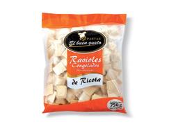 Ravioles El Buen gusto de Ricota 750 g