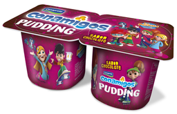 Pudding Conamigos Sabor Chocolate 110 g x 2