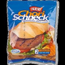 Hamburguesas Chori-schneck X 2