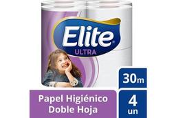 Papel Higienico Elite Ultra X 4
