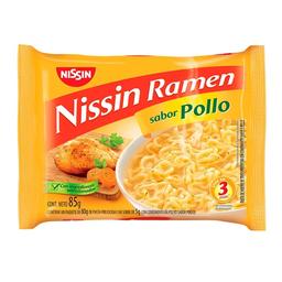 Nissin Fideo Instantaneo Ramen Pollo